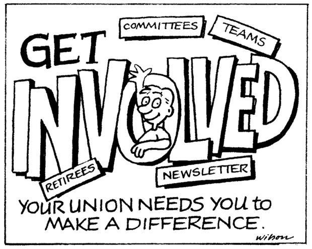 Get Involved. The Union needs you to make a difference.