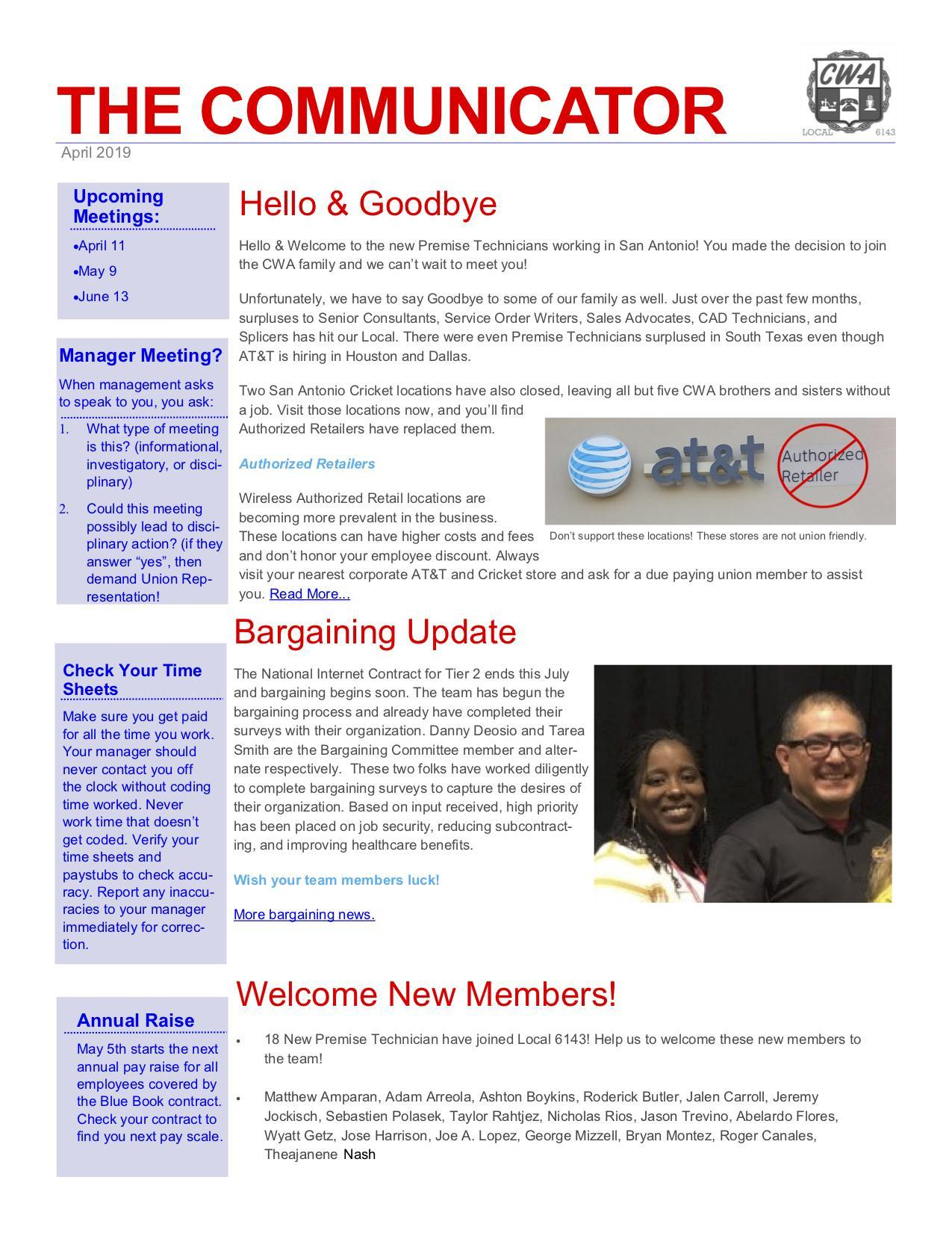Recent Content | Page 3 | Communications Workers of America